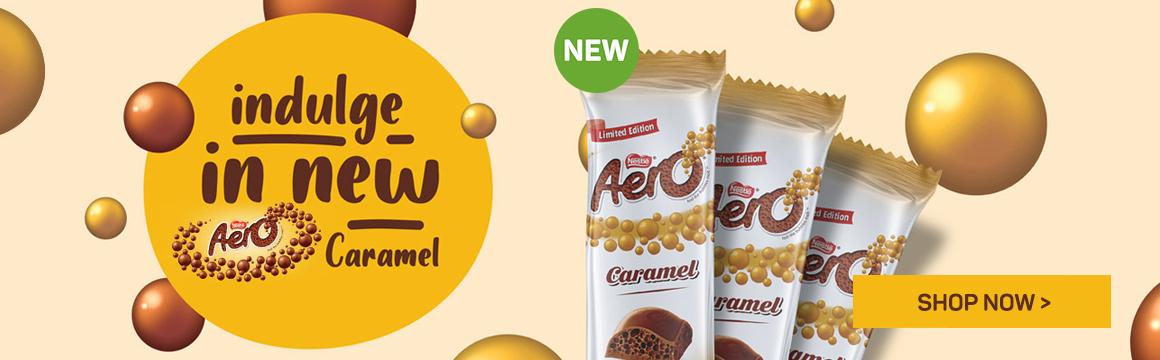 New Nestle Aero Caramel