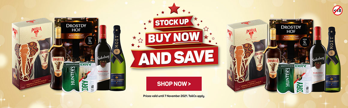 Stock up. Buy now. And save. Shop now >