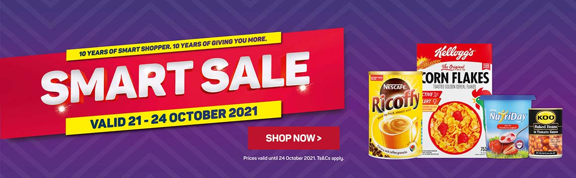 Smart sale. Shop now >