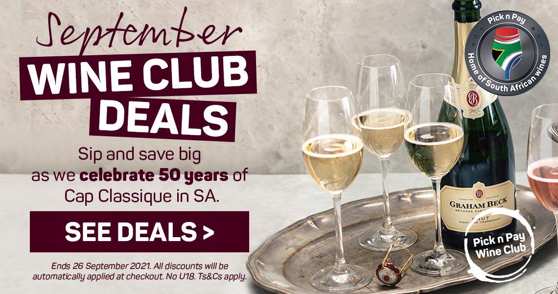 September Wine Club Deals. See deals >