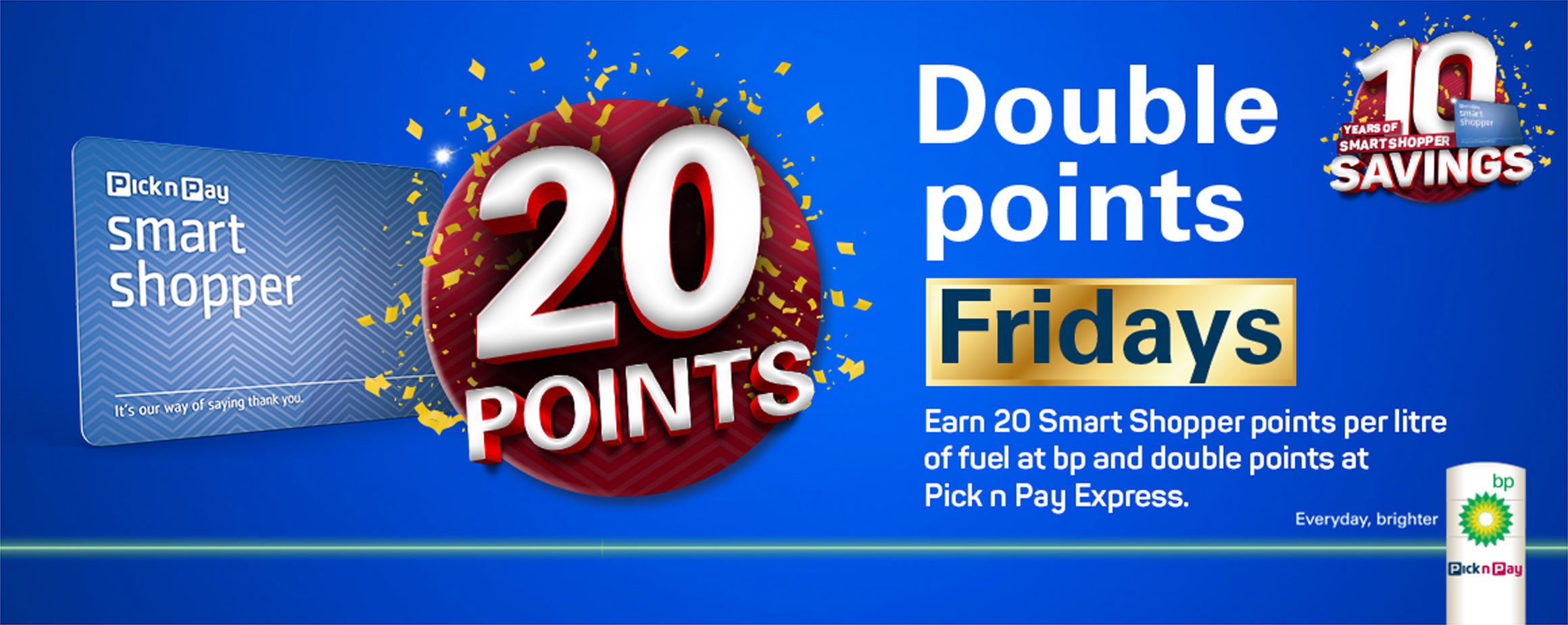 Double points Fridays