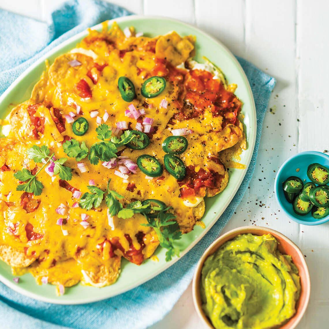Chakalaka nachos