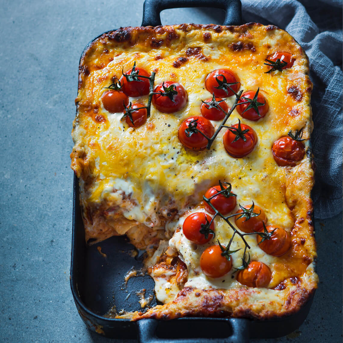 <strong>Slow-cooked</strong> lasagne