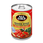 All Gold Indian Style Diced Tomatoes 410 g