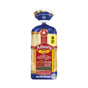 Albany Superior Sliced White Bread 700g
