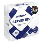 PnP No Name Serviettes White 50ea