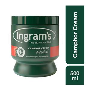 Ingram's Herbal Camphor Cream Herbal 500g