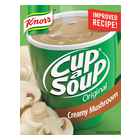 Knorr Cup-A-Soup Creamy Mushroom 4s