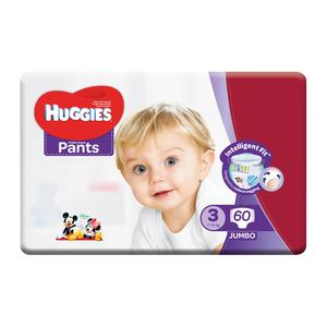 Huggies Pants Unisex Jumbo Size 3 60ea