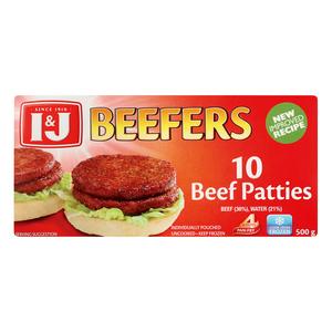 I&J Beefers Steakburgers 500g