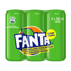 Fanta Pineapple 300ml Can x 6