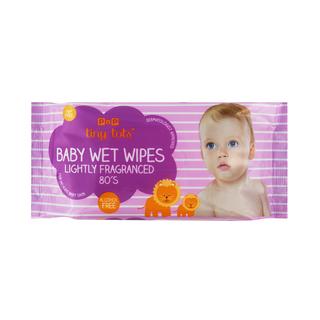 PnP Tiny Tots Baby Wet Wipes Fragranced 80s