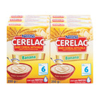 Nestle Cerelac Infant Cereal Banana 250g x 6
