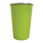 Leisure Quip Tumbler Lime Green Stainless Steel