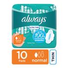 Always Ultra Sanitary Pads Regular 10s