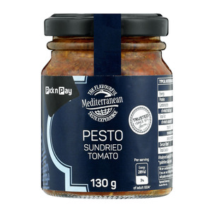 PnP Pick Local Sundried Tomato Pesto 130g