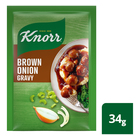Knorr Brown Onion Instant Gravy 34g