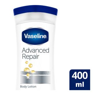 Vaseline Body Lotion Advanced Repair Unfragranced 400ml