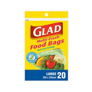 Glad Multi Fresh Food Bags 2 80 X 330Mm 20