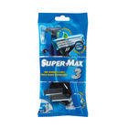 Super-max Men's Triple Blade Disposable Razor 5ea