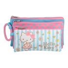 Hello Kitty 3 Compartment Pencil Case
