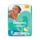 Pampers Baby-Dry Size 3 Jumbo Pack, 76 Nappies x 2