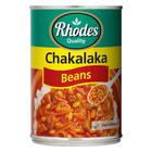 Rhodes Chakalaka With Beans 400 Gr