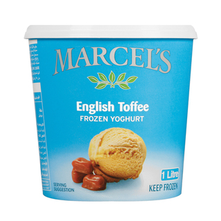 Marcel's Frozen English Toffee Yoghurt 1l