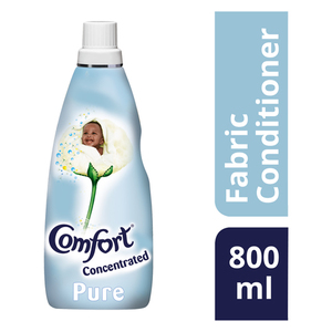 COMFORT Pure Concentrated Fabric Conditioner 800ml
