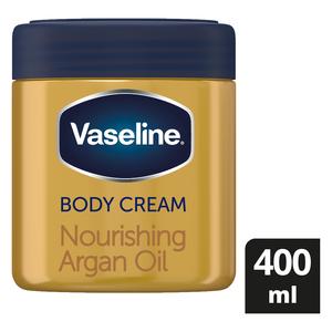 Vaseline Body Cream Nourishing Argan Oil 400ml