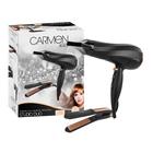 Carmen Amber Studio Duo Hairdryer & Stra Aightener Set