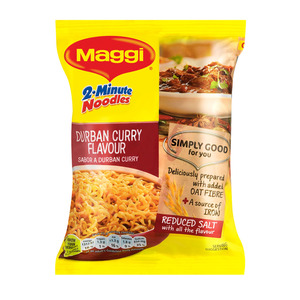 Maggi 2-Minute Noodles Durban Curry Flavour 73g