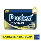 Protex For Men Triple Action Antigerm Bath Soap 150gr