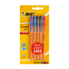 BIC Orange Fine 3+2 Assorted