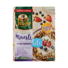 JUNGLE MUESLI MIXED BERRIES LITE 750GR