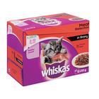 Whiskas Multipk Meat In Gravy 12x85g