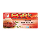 I&J Frozen Flaming Good Burgers 500g
