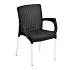 SA Leisure Monaco Arm Chair Black