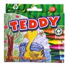 Teddy Wax Crayons 9ea x 24