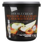 PnP Double Cream Stewed Fruit & Custard  Yoghurt 1kg