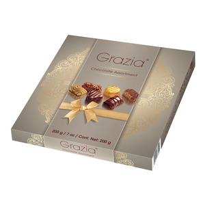 Grazia Assorted Chocolate Pralines 200g