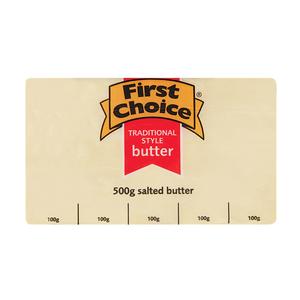 First Choice Salted Butter 500g