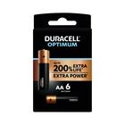 Duracell Optimum AA 6 Pack