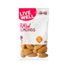 PnP Live Well Raw Almonds 30g