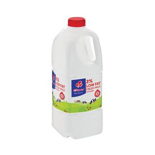 Clover 2% Low Fat Fresh Milk 2l