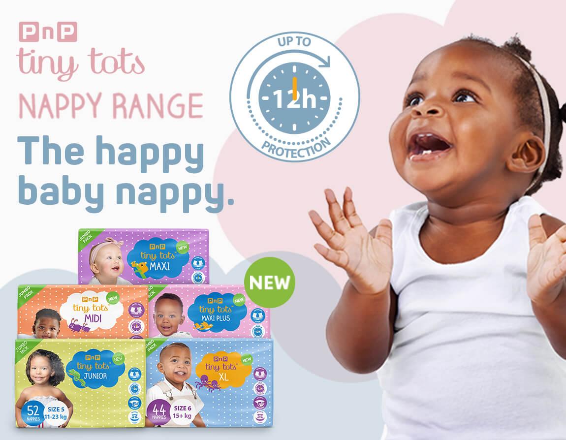 Tiny Tots Nappy Range