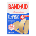 Band-aid Assorted Plastic Sh apes Plasters 25
