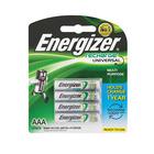 Energizer Recharge AAA Batteries 4s