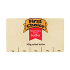 First Choice Salted Butter 500g