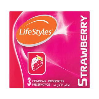 Lifestyle Flavours Condoms 3ea